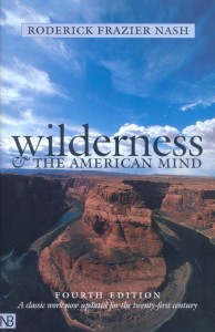 Wilderness and the American Mind by Roderick Frazier Nash