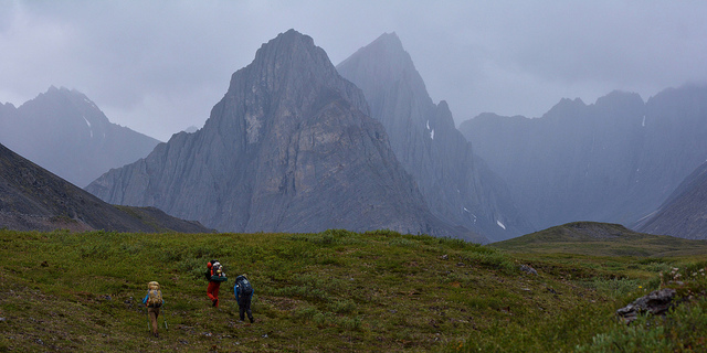 Thunder Valley, Gates of the Arctic National Park, Brooks Range Mountains. Photo by Paxson Woelber.