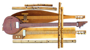 Michael Futreal's handmade instruments