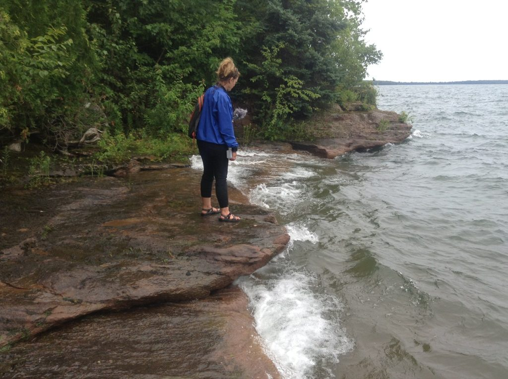 Libby Meyer Recording at Apostle Islands