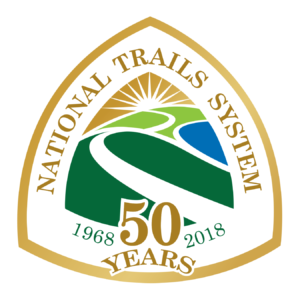 National Trails 50th Anniversary Logo