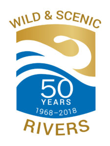 Wild and Scenic Rivers 50th Anniversary Logo