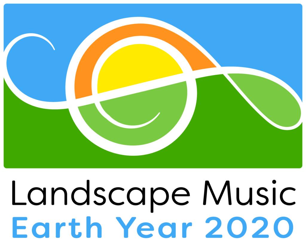 Landscape Music Earth Year 2020 logo