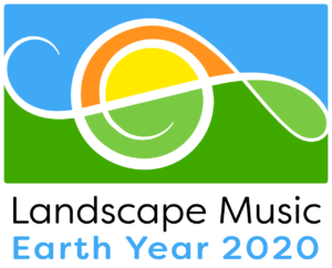 Landscape Music Earth Year 2020 logo
