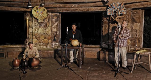 The musicians of Öngtupqa recording