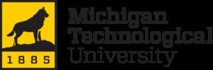Michigan Technological University black and yellow logo